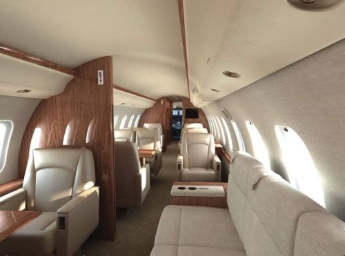 豪华私人飞机内饰-私人飞机订单井喷 中国成为增长最快公务机市场