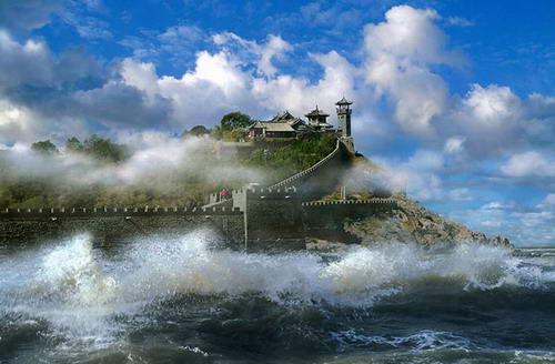 山东蓬莱阁-国务院批复同意将山东省蓬莱市列为国家历史文化名城