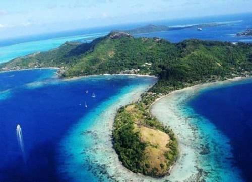 西沙群岛岛屿,东面为宜德群岛