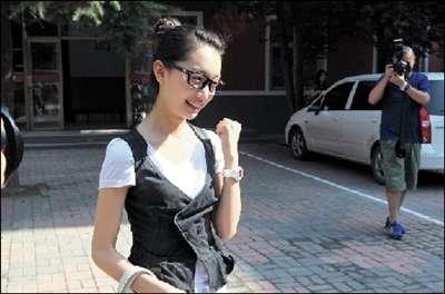 周冬雨来说,如果顺利通过今年的高考,她就可以进入自己梦寐以求的大学