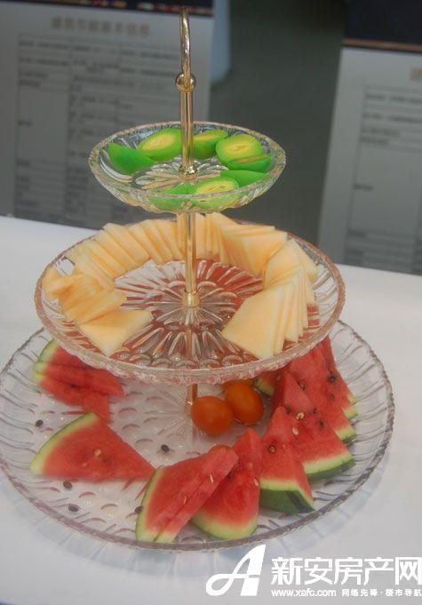 可口的水果拼盘