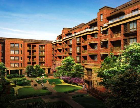 优势:精装修花园电梯洋房,双入户大堂设计,采用双层中空百叶门窗,实木