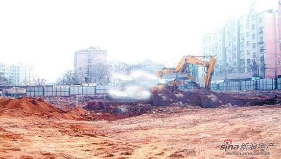 今年年初市北区镇江路地王诞生,青岛北海岸建设投资有限公司以楼面地