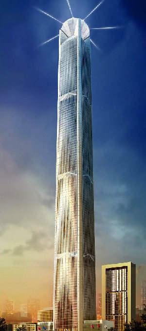 未来中国内地十大摩天大楼 多图