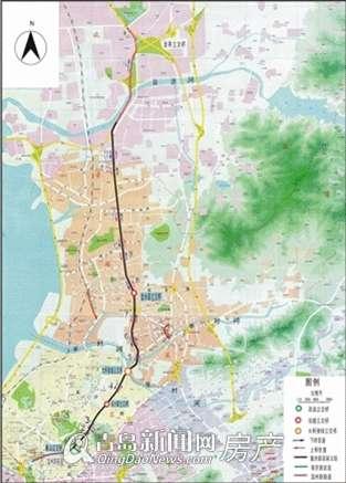 青岛重庆路改造涉拆40万㎡
