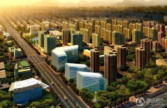 鸿坤理想城规划图