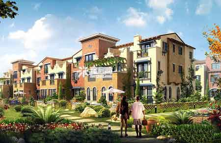 新新天竺万通总价百套联排别墅别墅880万元/市区家园荣成设计图图片