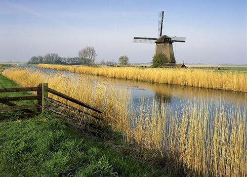 荷兰的国家商标:风车|荷兰|风车_凤凰旅游