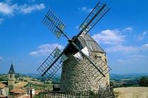 风车:荷兰的国家商标